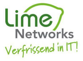 Lime Networks | Verfrissend in IT! Logo